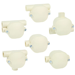 Hafbox lasdoos voor PVC