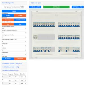 Groepenkasten Samenstellen Software