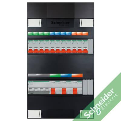 3 fase 11 groepen Schneider Electric groepenkasten