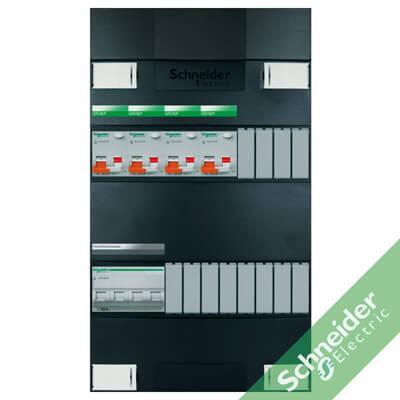 3 fase 4 alamat Schneider Electric groepenkasten