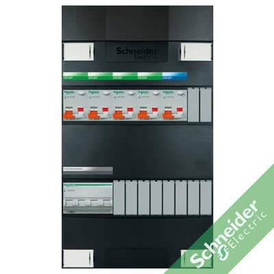 3 fase 5 alamat Schneider Electric groepenkasten