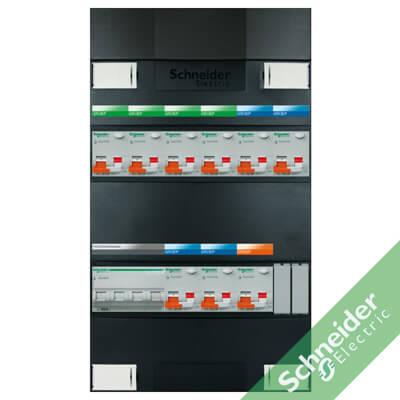 3 fase 9 alamat Schneider Electric groepenkasten