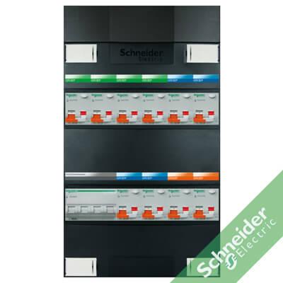 3 fase 10 alamat Schneider Electric groepenkasten