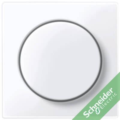 Centraalplaat Dimmers SYSTEEM-M Actief wit glanzend