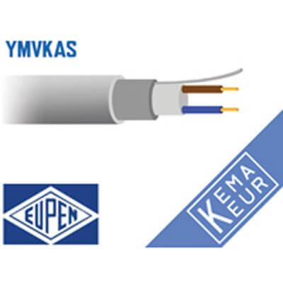 2 aderig grondkabel YMvKas-mb 90°