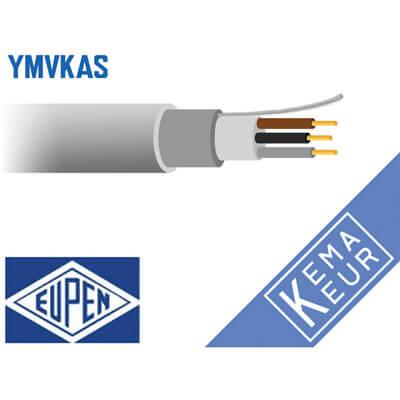 3 aderig grondkabel YMvKas-mb 90°
