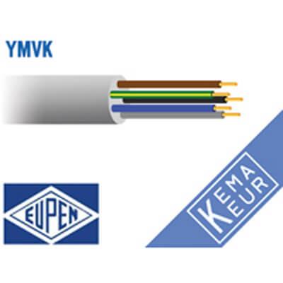 5 aderig installatiekabel YMvK-mb 90°