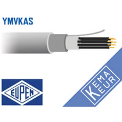 6 en meer aderig grondkabel YMvKas-mb 90°