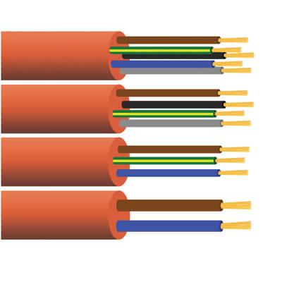 H07BQ-F PUR kabel halogeenvrij 90°
