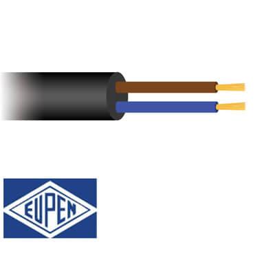 2 aderig Neopreen kabel H07RN-F 90°