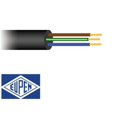 3 aderig Neopreen kabel H07RN-F 90°