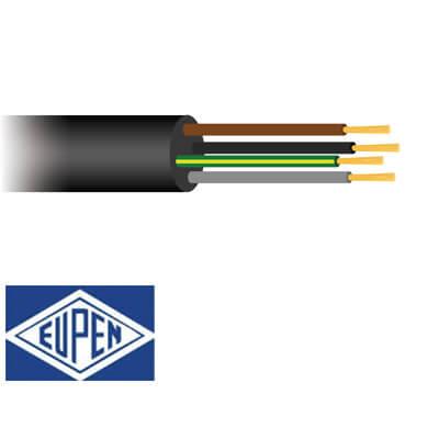 4 aderig Neopreen kabel H07RN-F 90°