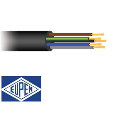 5 aderig Neopreen kabel H07RN-F 90°