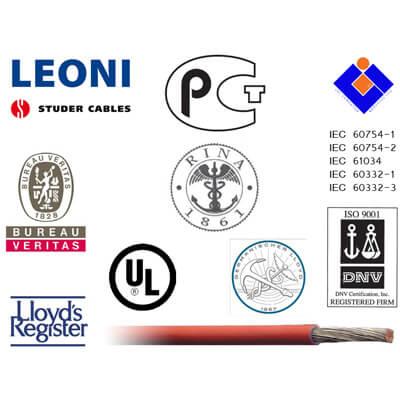 0.5mm² montagesnoer soepel Leoni Betatherm 145°C