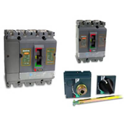 Vermogensautomaten MCCB tot 630A