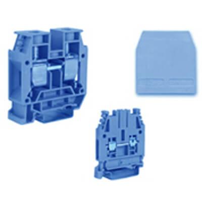Blauw montageklemmen Cabur