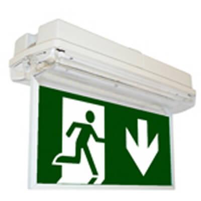 Noodverlichting opbouw plafondmontage