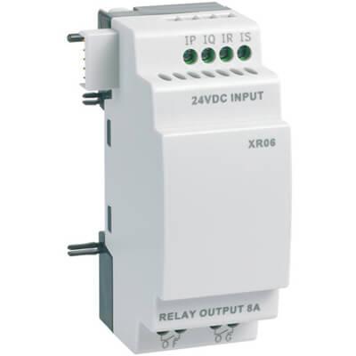 XR06 I/O uitbreiding plc Crouzet
