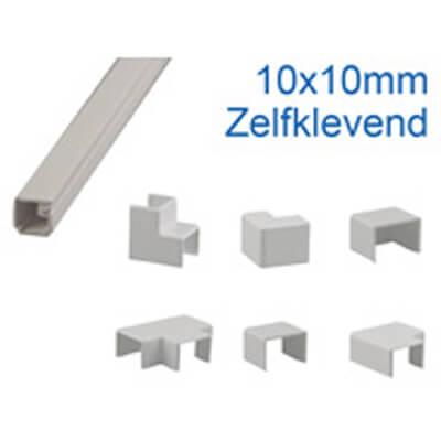 10x10mm zelfklevend leidingskoker