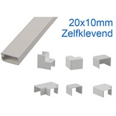 20x10mm zelfklevend leidingskoker