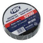 Zwart PVC isolatietape