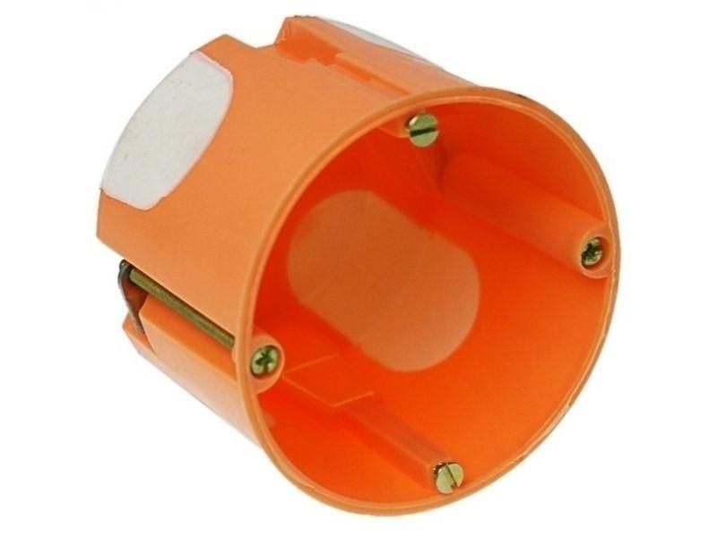 Hollewanddoos IB gat 68mm diep 61mm achetr en zij invoer