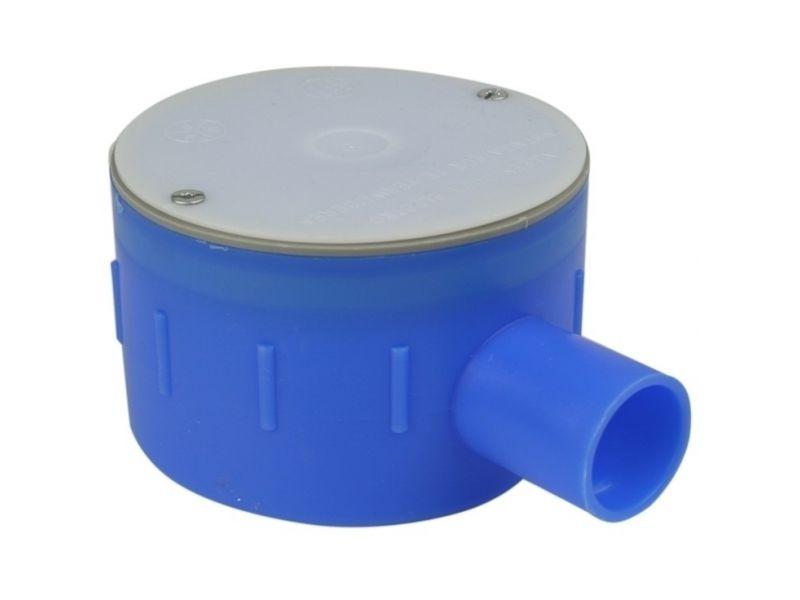 Perilex inbouwdoos 16A 47mm (19mm) blauw