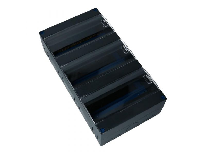 Ledige groepenkast koppelbaar 3x12 modules