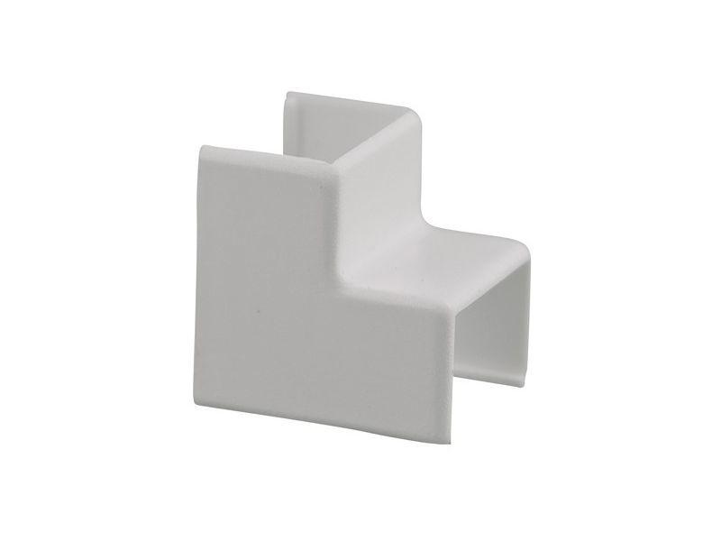 Binnenhoekstuk 20x10mm wit 2 stuks - 2 stuks
