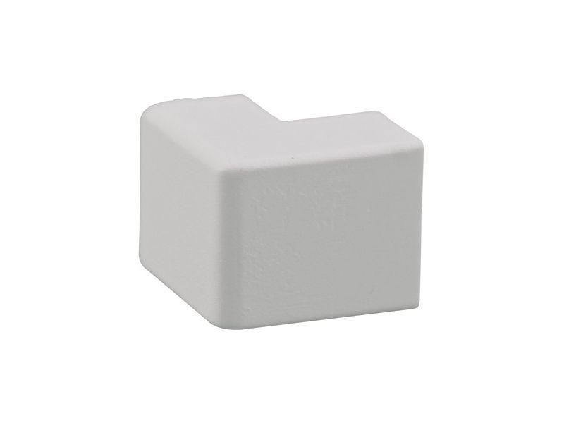 Buitenhoekstuk 20x10mm wit 2 stuks - 2 stuks