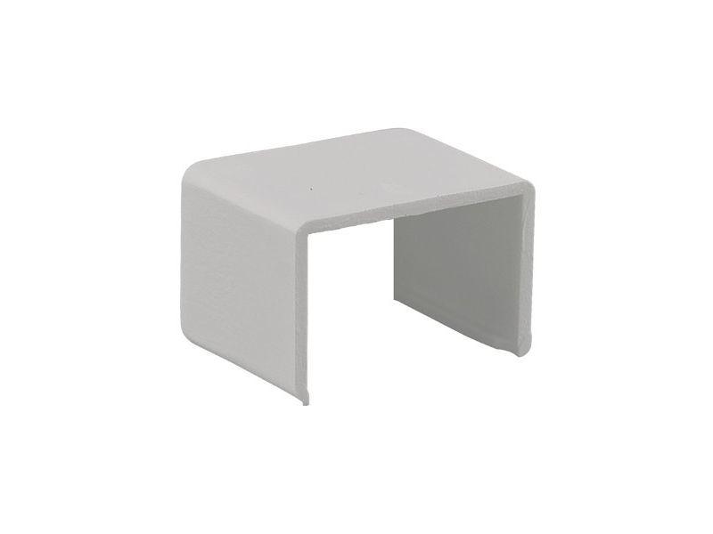 Koppelstuk 20x10mm wit 2 stuks - 2 stuks