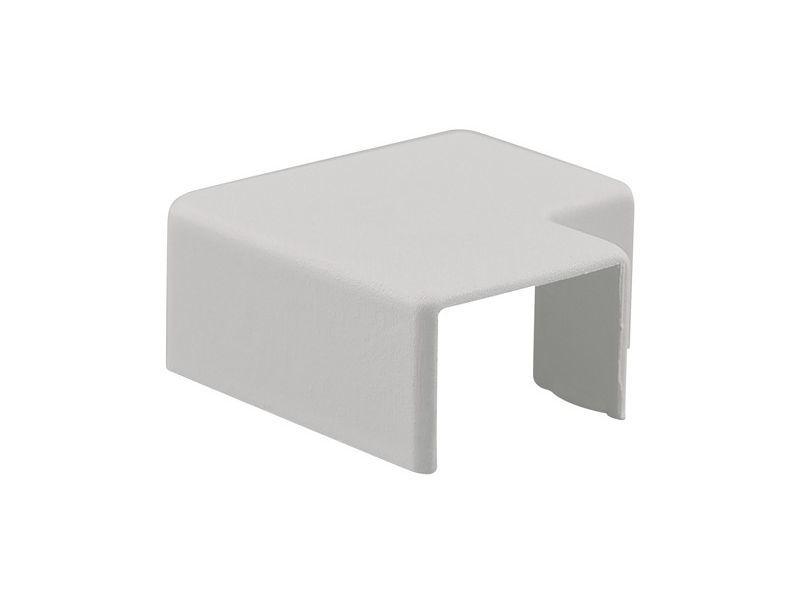 Vlakhaakstuk 10x10mm wit 2 stuks - 2 stuks