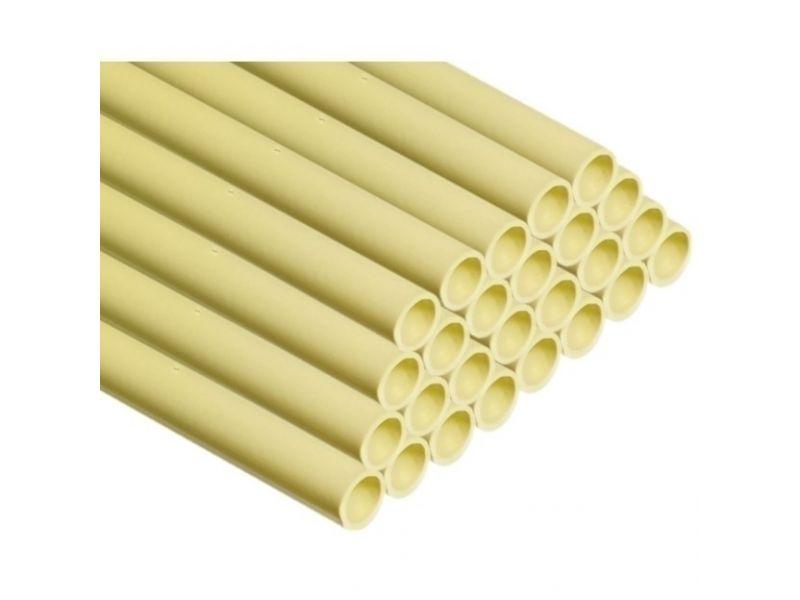 5/8inch 16mm pvc buis creme 25 lengtes van 2 meter - 50 meter